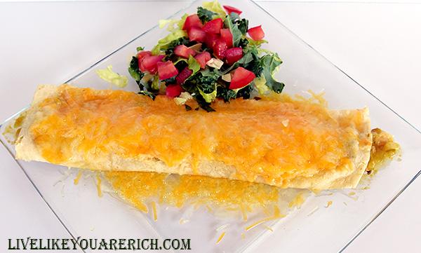 Tomatillo Chicken Enchilada Recipe