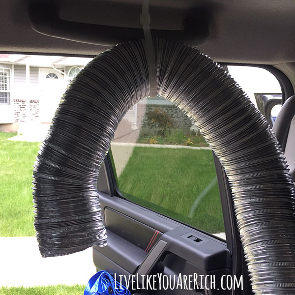 DIY A/C Vent for Rear-Facing Babies! -How to Keep Your Baby Cool in Their Rear-Facing Car Seat.