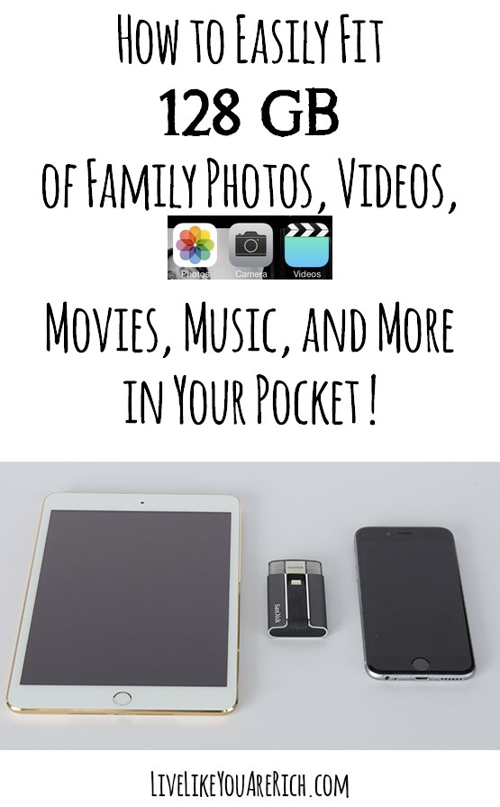 How to Easily Fit 128 GB of Photos and Videos in Your Pocket