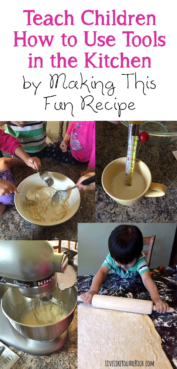 My Favorite Recipe to Teach Children How to Use Kitchen Tools