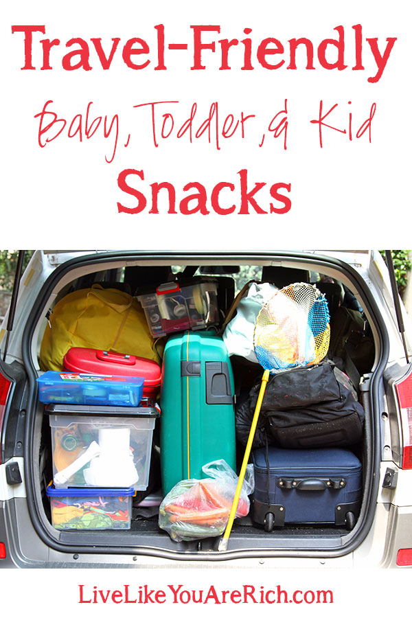 Travel-Friendly Baby, Toddler, & Kid Snacks