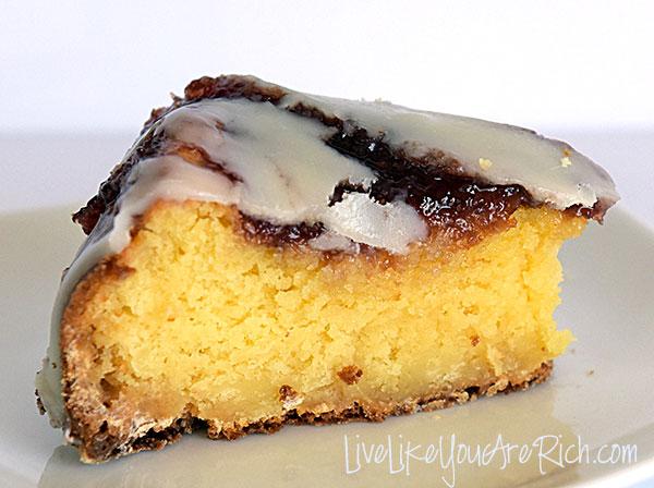 White Chocolate Raspberry Pudding Cake Recipe