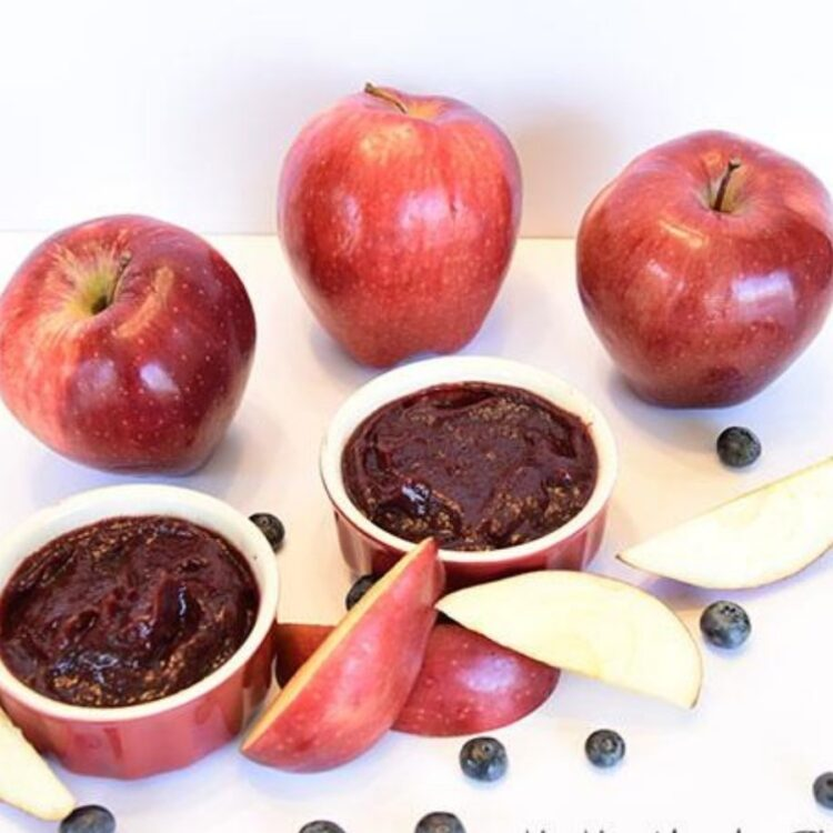 Apple Blueberry Puree Recipe
