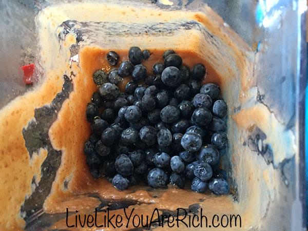 Baby Apple Blueberry Puree Recipe