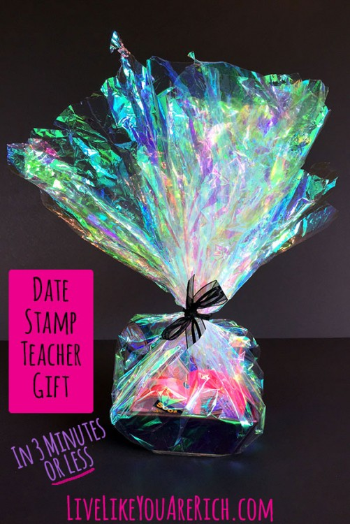 Date Stamp Teacher Gift