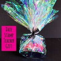 Date Stamp Teacher Gift