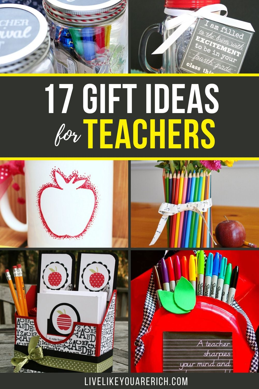 When I taught English in Taiwan, I loved it when I was given a gift. It showed me that the parents appreciated my teaching and working with their children. I'm a big fan of giving teachers gifts. Here are 17 useful, fun, and creative gift ideas for the teachers in your children's lives.