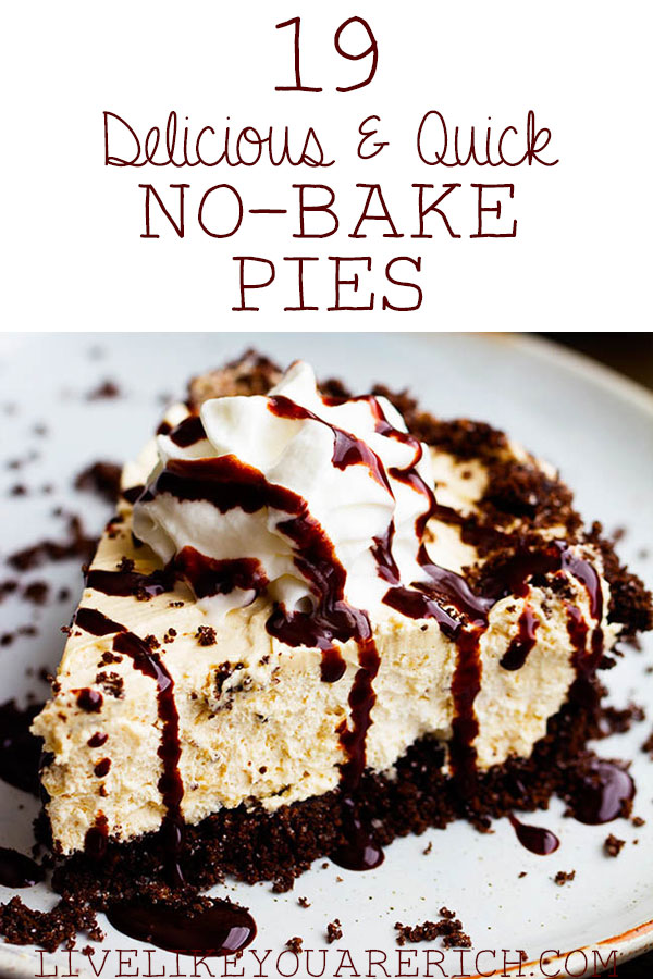 19 Delicious No-Bake Pies