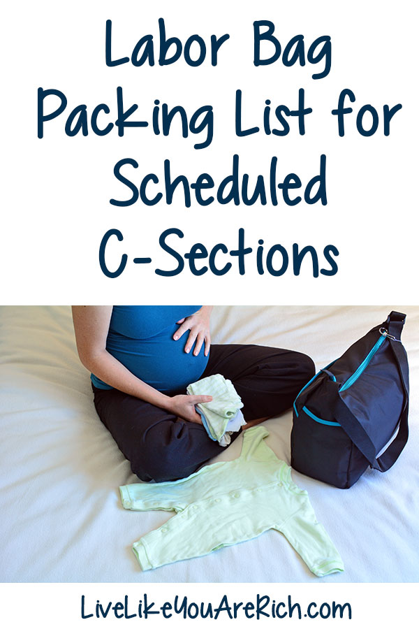 csection packing list