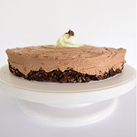 No-Bake Nutella Heath Pie
