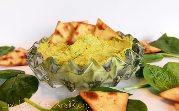 Spinach Artichoke Cream Cheese Spread