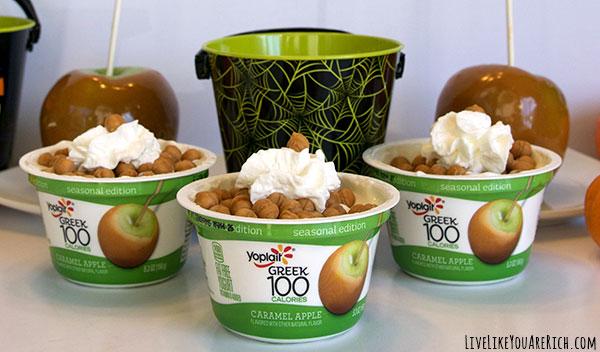 High Protein Dessert: Caramel Apple Dessert