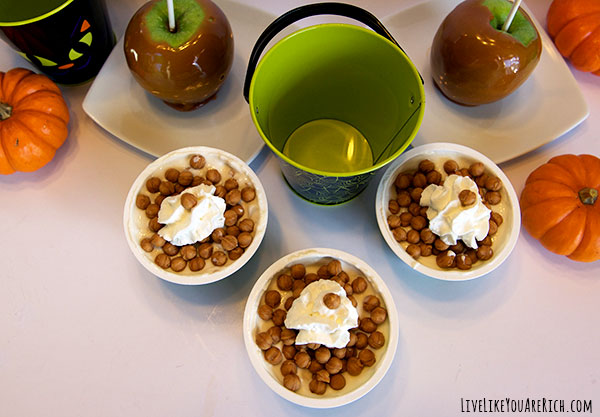 High Protein Dessert: Caramel Apple Dessert