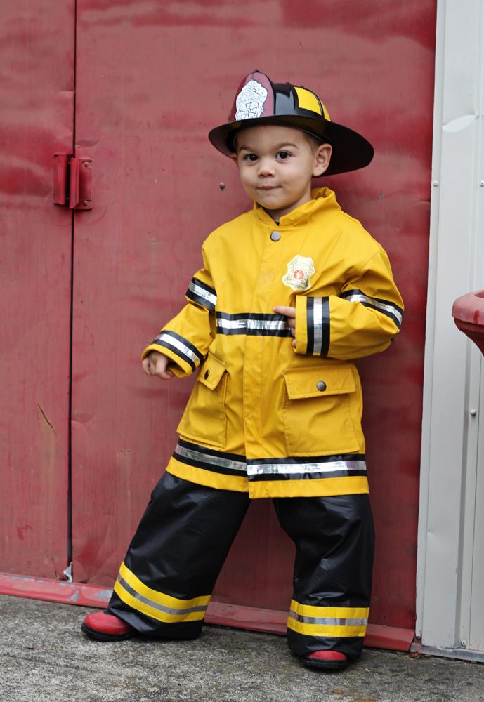 Feuerwehrmann Halloween Kostüm
