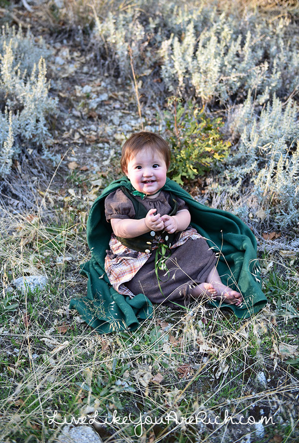 Baby Girl Hobbit Costume