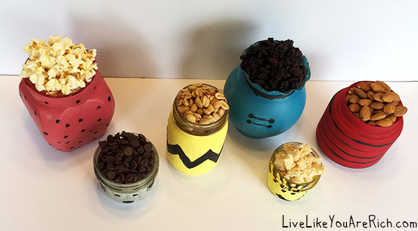 Peanuts Movie Trail Mix Bar