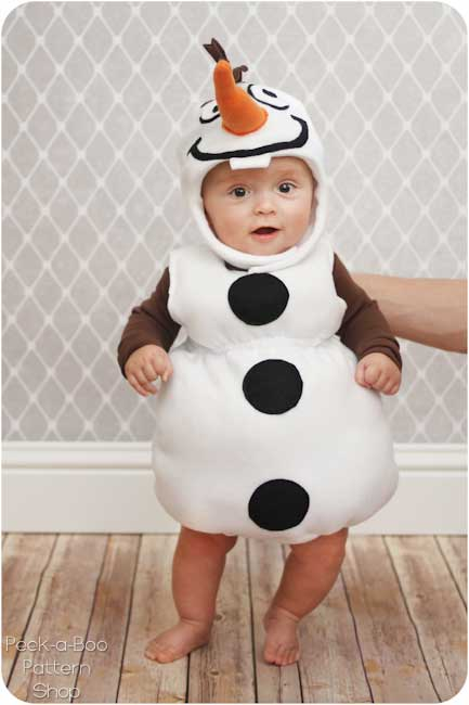 Olaf Inspired Costume
