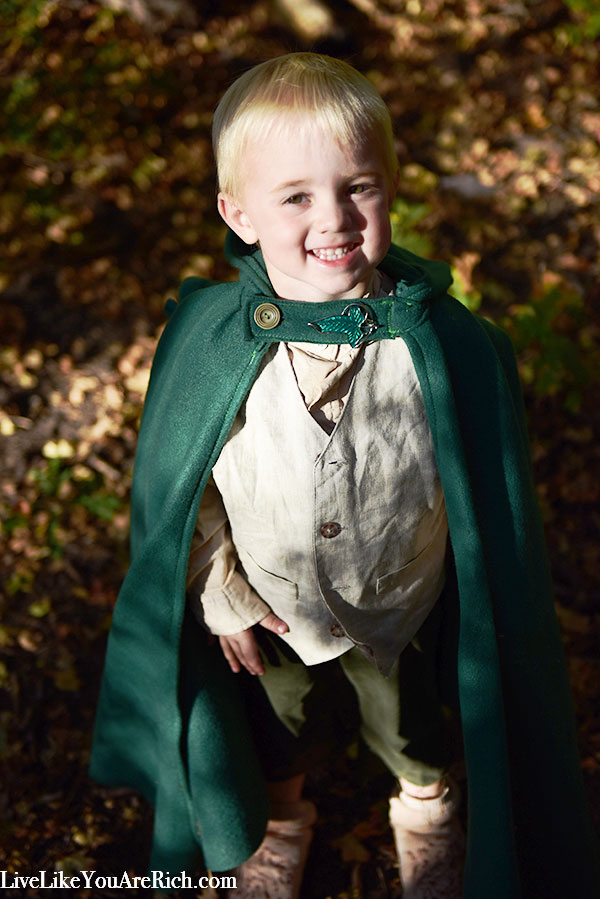 Samwise Gamgee Costume for a Toddler