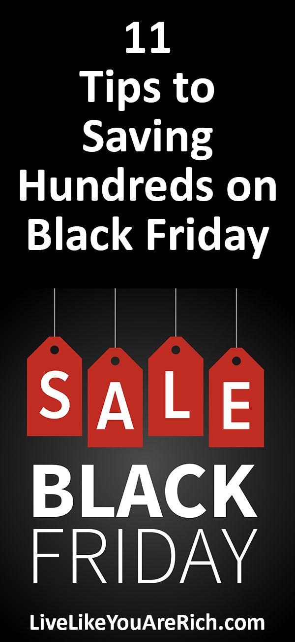 11 Tips to Saving Hundreds on Black Friday