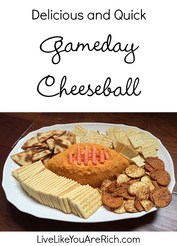 Game Day Cheeseball