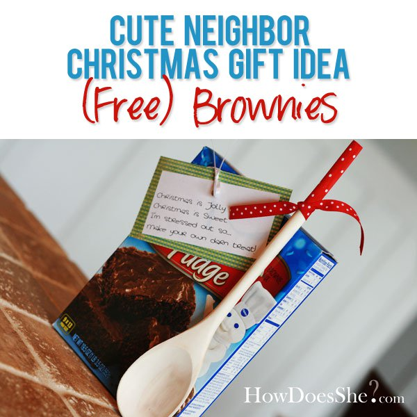 Quick and Inexpensive Neighbor Gifts for Christmas | Live Like You ...