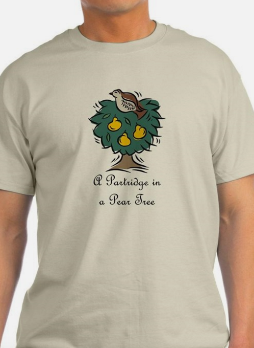 PARTRIDGE IN A PEAR TREE T-SHIRTS & TEES