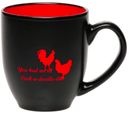 French hen mug