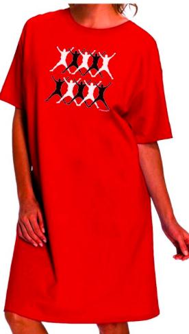 12 Days of Christmas Night shirt