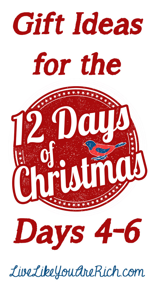 12 days of christmas day 4 gift ideas