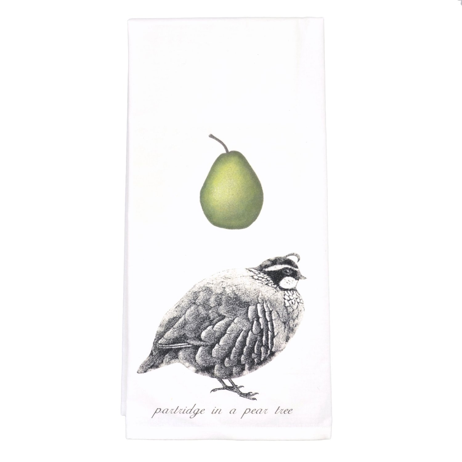 pear towel