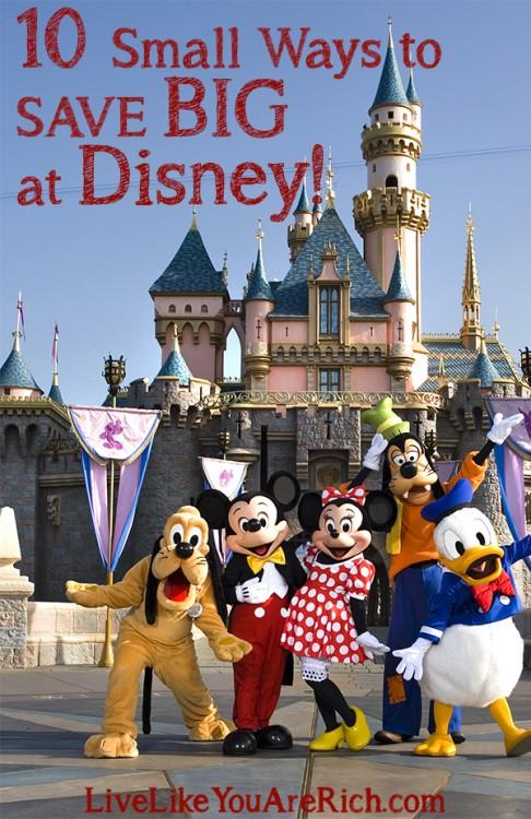 10 Small Ways to Save Big at Disney!