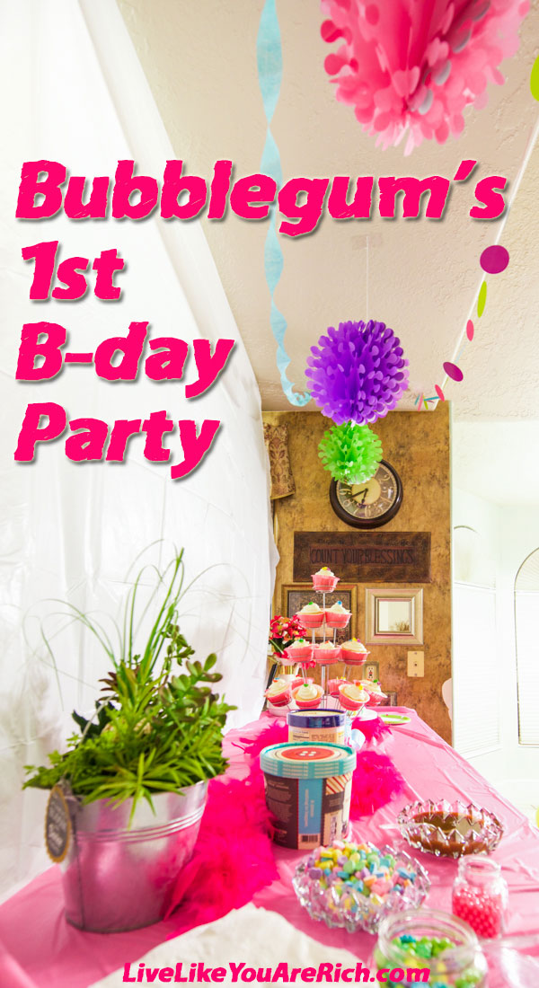 Bubblegum's First Birthday Party