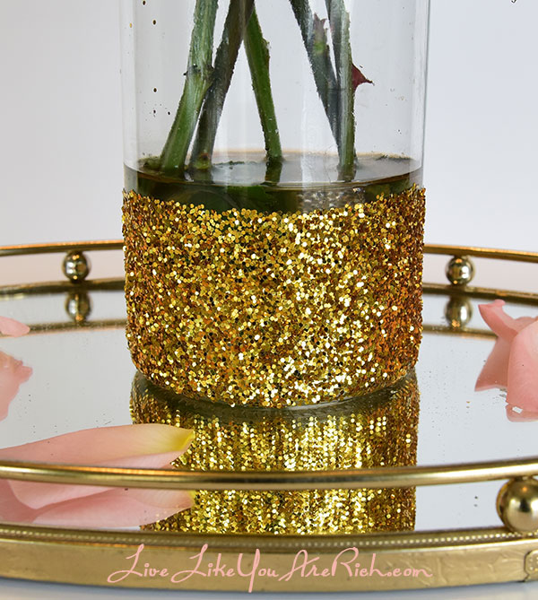 How To Make Glitter Vases Live Like You Are Rich