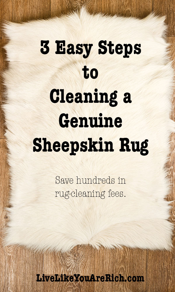 Cleaning A Genuine Sheepskin Rug