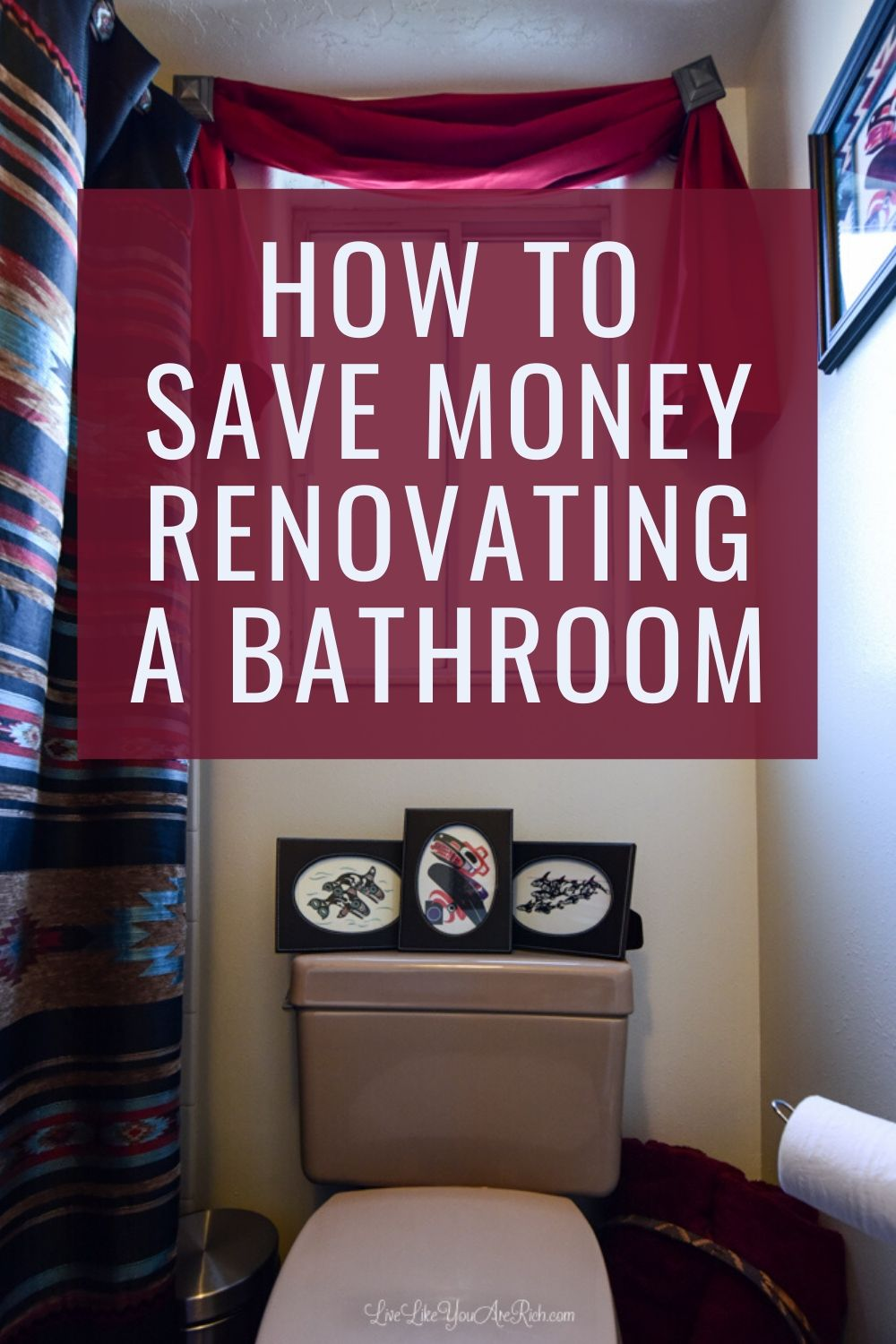 The average inexpensive DIY bathroom renovation is about $5,000. For just over $500 we were able to almost completely renovate, paint, and decorate our bathroom. I'm sharing how we did our bathroom renovation on a budget.