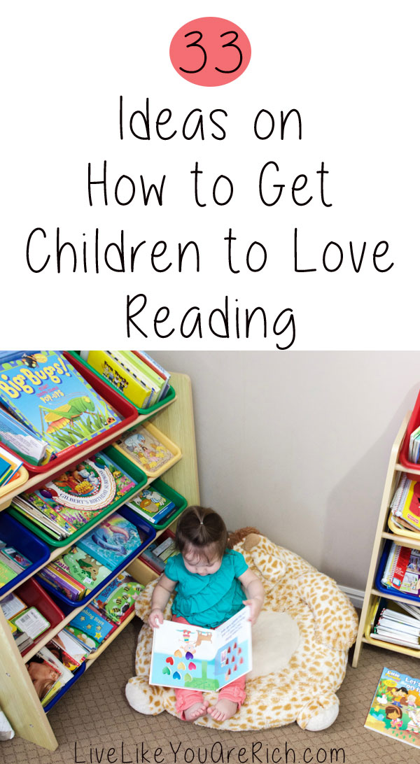 Ideas on How to Get Children to Love Reading