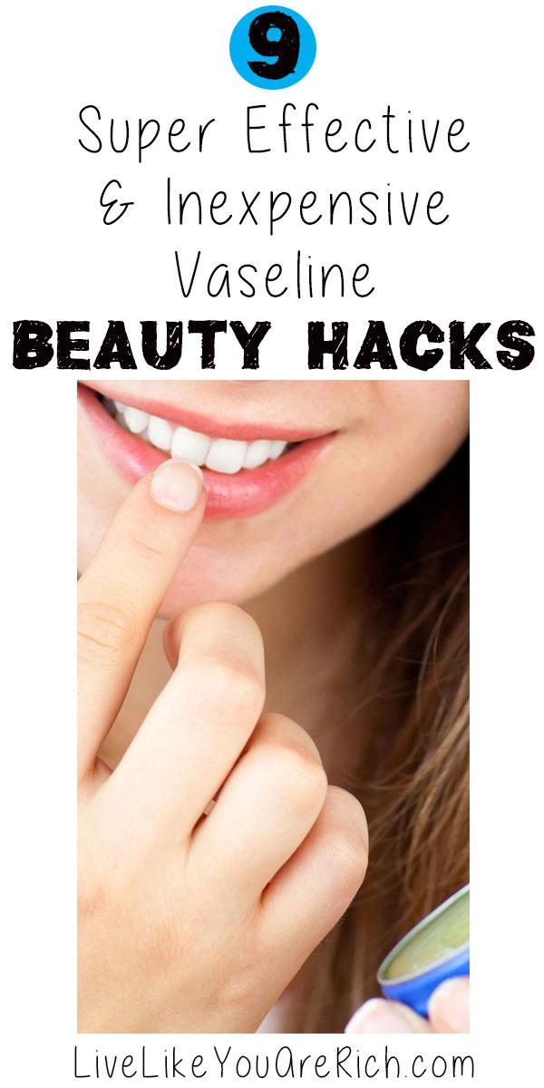 Vaseline Beauty Hacks
