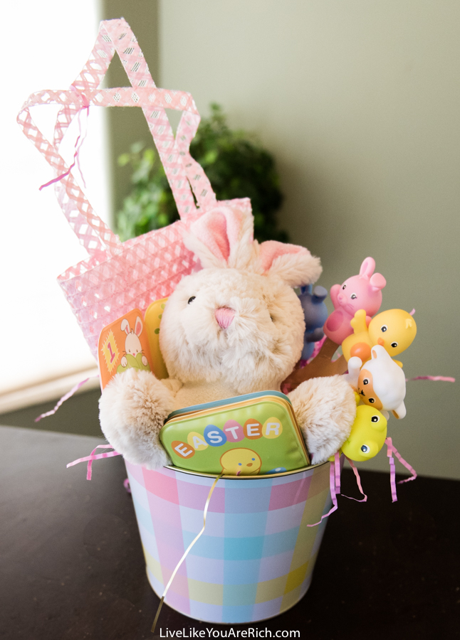 Candy Free Easter Basket For A Toddler Girl Live Like You Are Rich