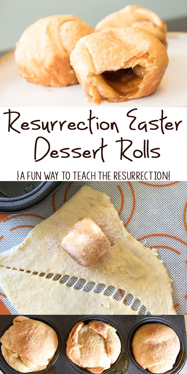 Resurrection Easter Dessert Rolls