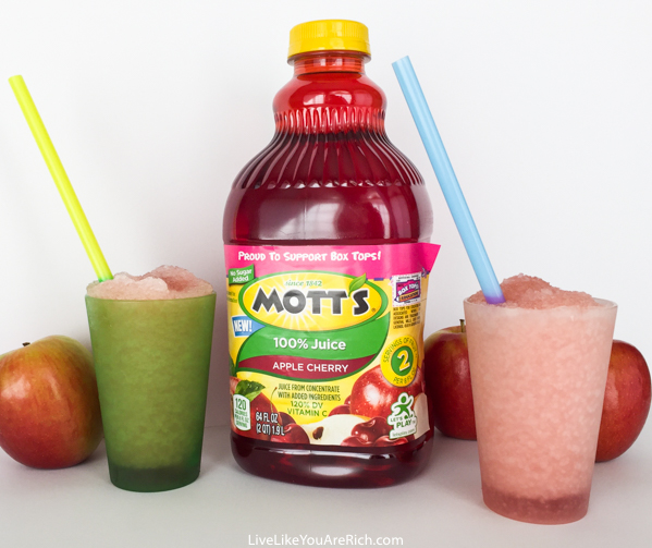 Kids' No Sugar Added Slushies