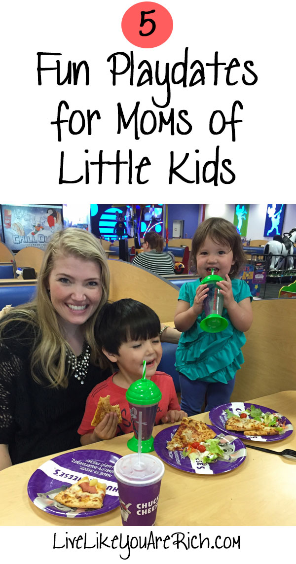 5 Fun Playdates for Moms of Little Kids