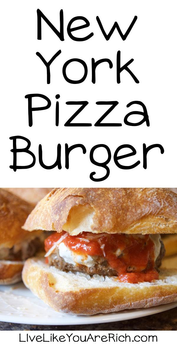 New York Pizza Burger