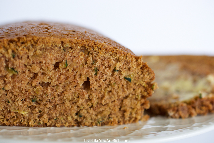 Zucchini Cinnamon Sugar Bread Recipe
