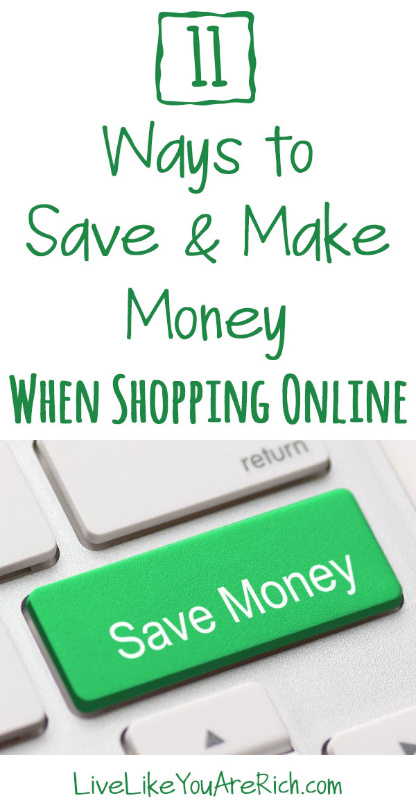 11 Ways to Save and Make Money While Shopping Online