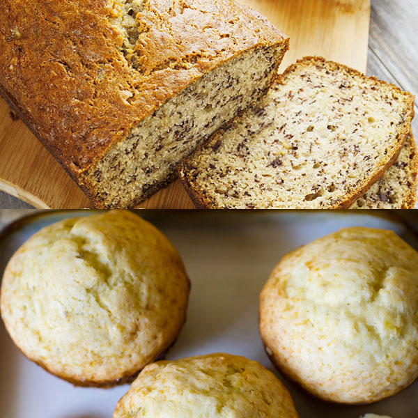 How to Turn a Bread Recipe into a Muffin Recipe