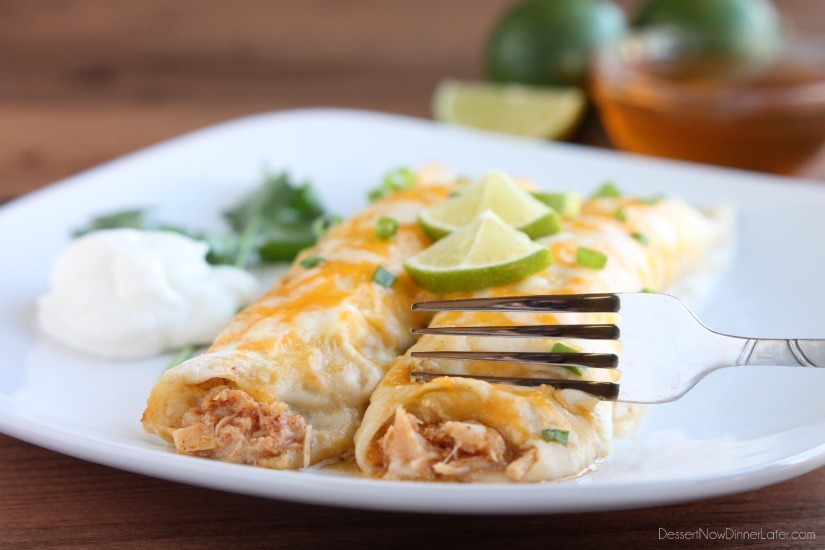 Honey-Lime-Chicken-Enchiladas3