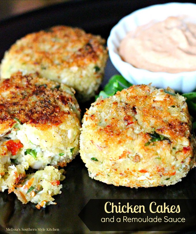 Crab Cakes With Chicken