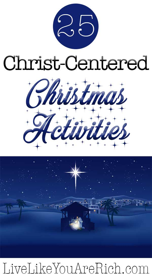 25 Christ-Centered Christmas Activities