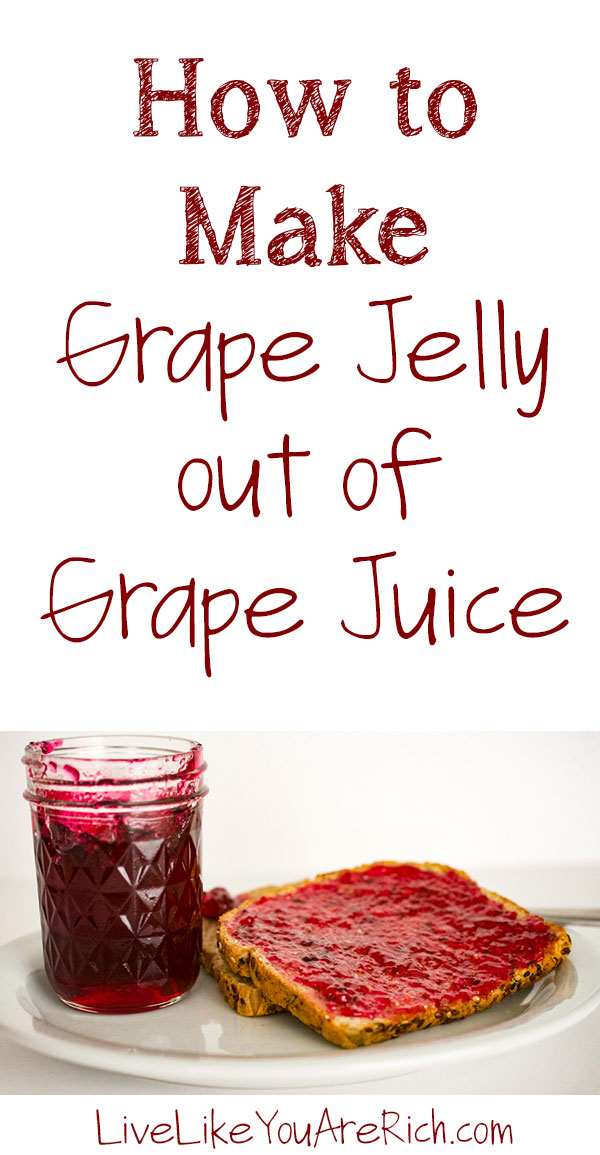 How to Make Grape Jelly out of Grape Juice