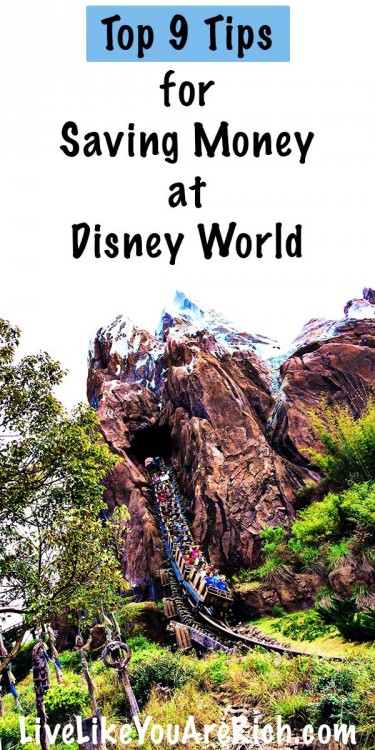 Top 9 Tips for Saving Money at Disney World